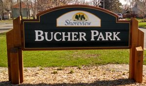 Bucher Park Sign